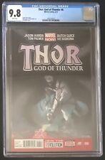 Thor God of Thunder #6 9.8 CGC 2012 1st Knull appearance 5 years b4 Venom 3 2018