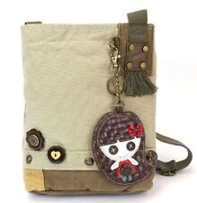 Chala Purse Handbag Canvas Crossbody with Key Chain Tote Bag Little Girl