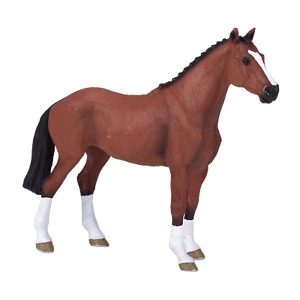 Mojo DUTCH WARMBLOOD HORSE toys model figure kids girls plastic animal farm