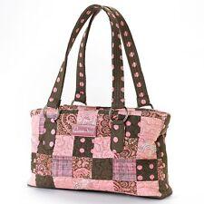 Donna Sharp Reese Handbag in Mocha Patch (SALE!)