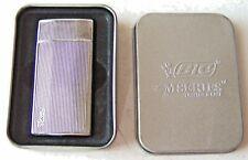 Vintage Used Bic M Series Cigarette Lighter in Metal Case