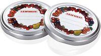 10 x Leifheit Twist-off Deckel für Marmeladengläser Confiture Ersatzdeckel 66mm