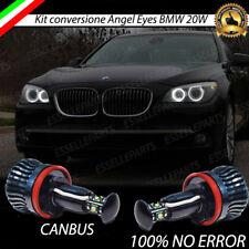 LAMPADE H8 A 5 LED CREE 20W PER ANGEL EYES BMW SERIE 7 F01 CANBUS 6000K NO ERROR