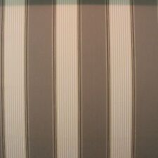 "SUNBRELLA CLACKSTON SAND STRIPE BROWN MARINE AWNING BOAT FABRIC BY YARD 46"" W"