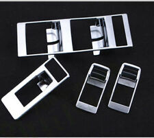 Chrome Inner Door Window Switch Button Panel Trim For Jeep Patriot Compass 09-17