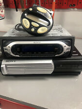Sony Cdx-Mp40 Car Stereo With Cdx-T69 Cd Changer And Rm-Xm10 Control Unit