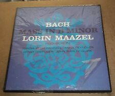 Maazel/Stich-Randall/Haefliger BACH Mass in B minor - Philips SPS 3-981 SEALED