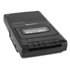 auna RQ-132 Lecteur de Cassette avec Dictaphone - Noir (10030827)