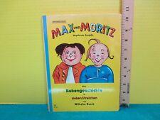 children's German language classic MAX & MORITZ by WILHELM BUSCH hardcover