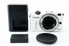 Canon EOS M2 Mirrorless digital camera Body White 18.0 MP from JP Excellent USED