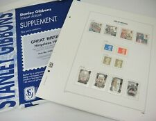 Stanley Gibbons Davo Great Britain Hingeless 1997 Album Supplement w Stamps 5285