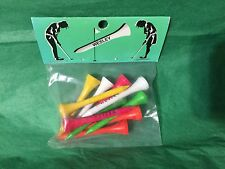 Set of 10 Golf Tees Personalized WESLEY Stocking Stuffer Office Gift