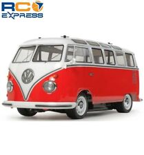 Tamiya 1/10 RC Volkswagen Type 2 T1 Red/White Ptd Body M-06 TAM47420