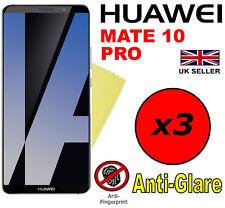 3x Hq Matte Anti Glare Screen Protector Cover Film Guards For Huawei Mate 10 Pr0