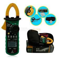 MASTECH MS2108 Digital True RMS Clamp Multimeter AC DC Voltage Frequency Tester