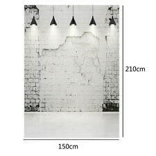 vinyl photography background backdrop studio photo props brick floor 5X7FT MH431