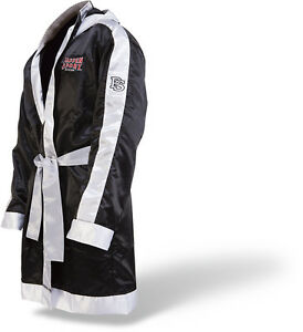 Paffen Sport BoxerMantel. In schwarz u. rot   Kickboxen. Muay Thai. Boxen. MMA.
