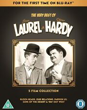 The Very Best of Laurel & Hardy: 5 Film Collection (Box Set) [Blu-ray]