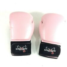 Century 14 Oz Boxing Gloves I love Kick Boxing Pink Womens Training