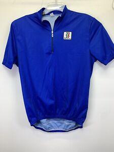 Biemme  Blue Short Sleeve Cycling Jersey  size 6 NW/OT's(O52)