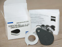 Zeiss Einschlaglupe D40 (10x) Lupe - magnifying glass Juwelier Uhrmacherlupe