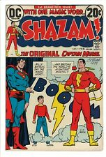 Shazam #1 DC Comics 1973 Captain Marvel Superman SIGNED by CC Beck in 1979