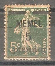 Memel 1920,5pf on 5c,Sc 18,VF Mint Hinged* (A-7)