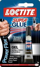 LOCTITE Super Glue Power Flex Gel  Flexible Adhesive 3g TUBE