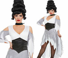 Mujer Disfraz de Novia Cadáver Disfraz Halloween Gótico Adulto GB 8-18