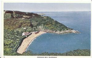 Channel Islands Postcard - Fermain Bay - Guernsey   ZZ2463