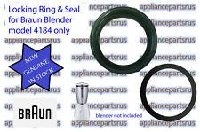 Braun Blender Blade Locking Ring 4184 - Part No 4184624 64184624 BR64184624  NEW