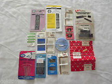 VINTAGE CRAFTS SEWING 14 PIECE NEEDLES LOT