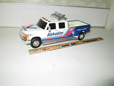 "VALVOLINE FORD F-150 TRUCK PICK UP TRUCK PIGGY BANK SCALE-10""-1/2 LONG-WITH/KEY"