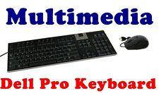 Dell Precision T5400 T5500 T7400 T7500 Premium Multimedia Pro keyboard & Mouse