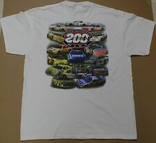 Hendrick motorsports Team racing 200 Wins New t-shirt Rare Retro race cars LG L