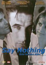 Say Nothing ( Thriller ) mit Nastassja Kinski, William Baldwin, Hart Bochner DVD