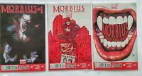 Morbius The Living Vampire 1 2 3  2013 Marvel Comics Lot of 3