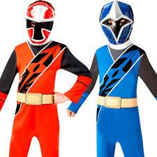 Ninja Steel Power Rangers Kids Fancy Dress Superhero TV Boys Childrens Costume
