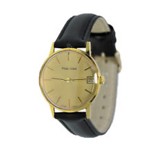 Orologio Solo Tempo Uomo PHILIP WATCH Oro 18 KT con Data - Swiss Made