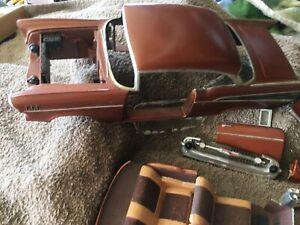 AMT 1/16 scale 1957 Chevy Bel Air 2 door hardtop built & painted for restoration
