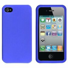 Silicone Skin Case for iPhone 4 / 4S - Blue