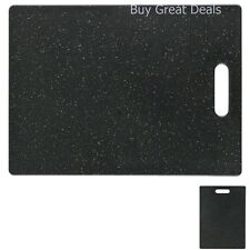 Premium Kitchen Multi-Use Cutting Board, 8.5 x 11, Granite Color - NEW