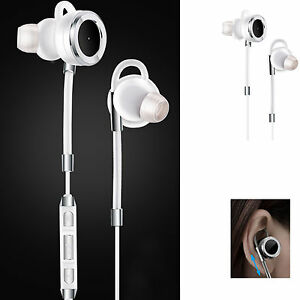 Bluetooth Headphones Sports Stereo In-ear Noise Cancelling for Samsung iPhone