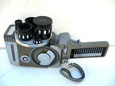 **1950`s YASHICA 8-EIII 8mm CINE CAMERA, MOTOR & FILM RUN BUTTON WORKING OK**
