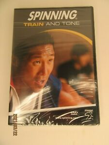 NEW Spinning Train & Tone Indoor Cycling DVD  Sealed