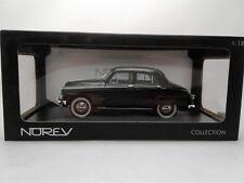 Simca 9 Aronde 1953 black Norev 1:18 diecast model 185740
