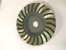 Alpha 4-Inch Diamond Turbo Grinding Wheel- Medium Granite/Marble - Dg4Ma+