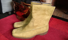 Ladies Tan Suede Look Boots by Pavers size UK 5 / EU 38