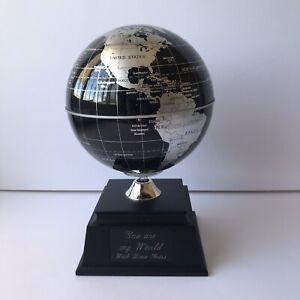 Things Remembered Black Solar Powered Globe