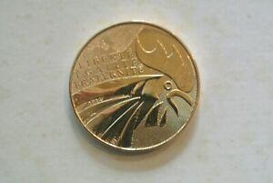 10 euro silver dorée gold  FRANCE 2015 UNC ( COQ  )  poids 17 gr20